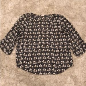 Stitch Fix Pixley Elephant Print Blouse